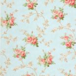 Tudor Rose Wallpaper DE41407 By SK Filson For Dixons Exclusive